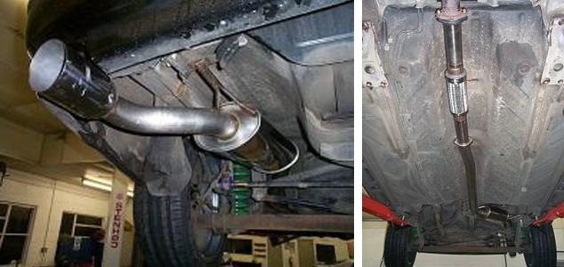Exhaust Installation