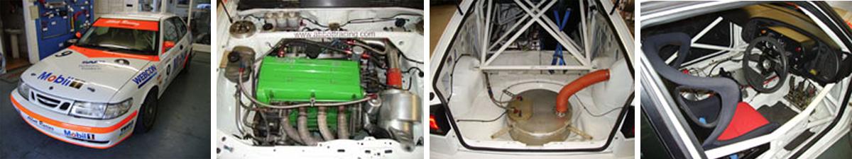 Racing Saab
